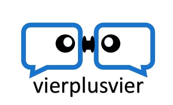 vierplusvier | Webdesign & SEO Berlin Logo